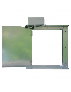 Automatic door for chicken coop. 180º opening. Agrimatic.
