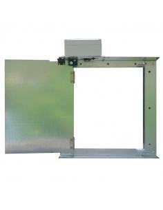 Agrimatic automatische Tür für Hühnerstall. 180º Öffnung. Agrimatic.