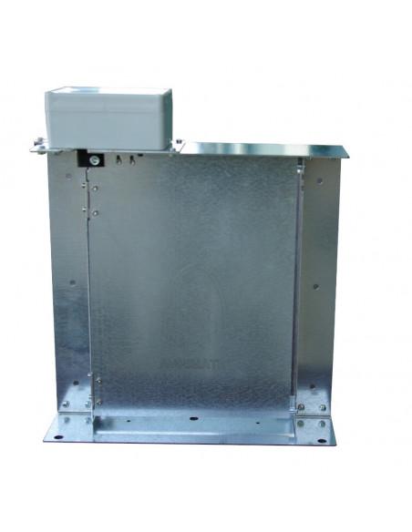 Puerta para gallinero automática Agrimatic cerrada
